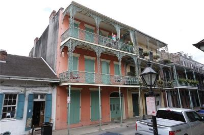 French Quarter Multi Family Home For Sale: 1018 Royal Street #9