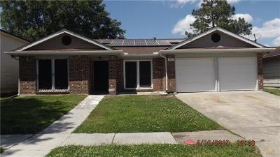 Harvey Single Family Home For Sale: 3844 Agateway Drive