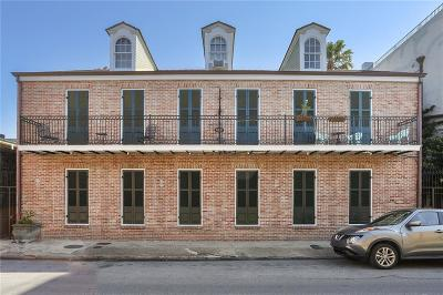 French Quarter Multi Family Home For Sale: 1005 Barracks Street #5