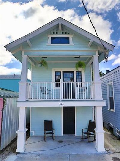 New Orleans Single Family Home For Sale: 324 N Roman Street