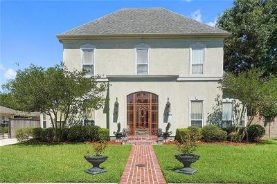 Kenner Single Family Home For Sale: 4456 Rue St. Peter Street