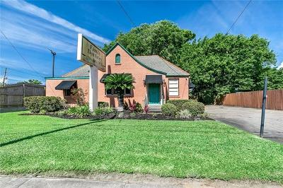 Kenner Single Family Home For Sale: 913 Williams Boulevard