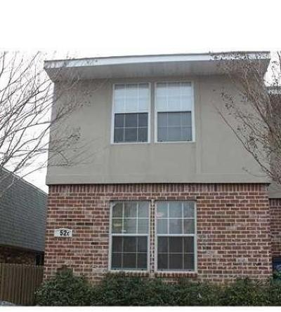 Destrehan Townhouse For Sale: 52 Brandon Hall Drive #C