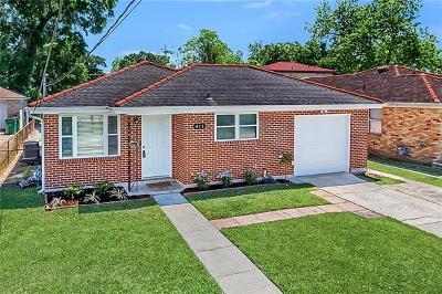 Metairie Single Family Home For Sale: 411 Carrollton Avenue