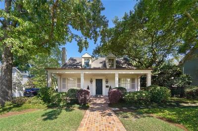 Metairie Single Family Home For Sale: 139 Ridgeway Drive