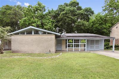 New Orleans Single Family Home For Sale: 3319 River Oaks Drive