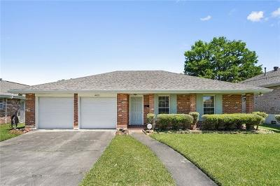 Metairie Single Family Home For Sale: 4621 Shores Drive