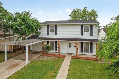 Marrero Single Family Home For Sale: 4016 Cypress Street