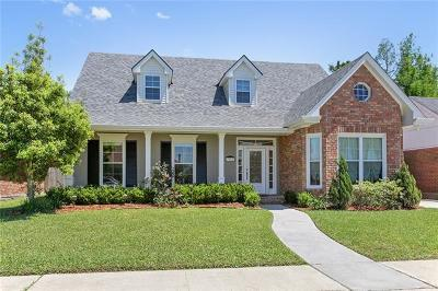 Kenner Single Family Home For Sale: 4002 St Elizabeth Drive