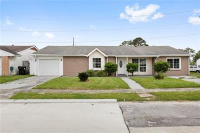 New Orleans Single Family Home For Sale: 3701 Blair Street