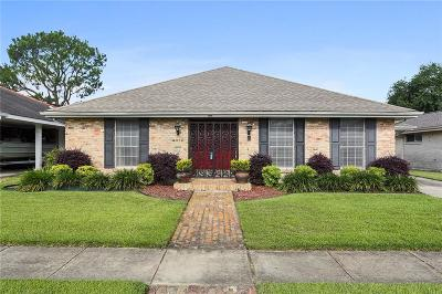Metairie Single Family Home For Sale: 4012 Ferran Drive