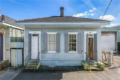 Jefferson Parish, Orleans Parish Multi Family Home For Sale: 2126-28 N Rampart Street
