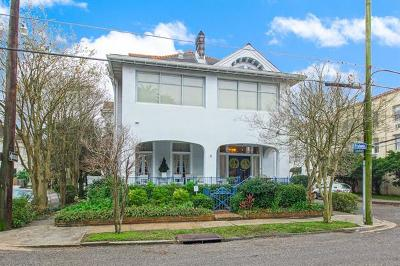 New Orleans Single Family Home For Sale: 3232 Prytania Street
