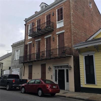 New Orleans Multi Family Home For Sale: 727 Barracks Street #6