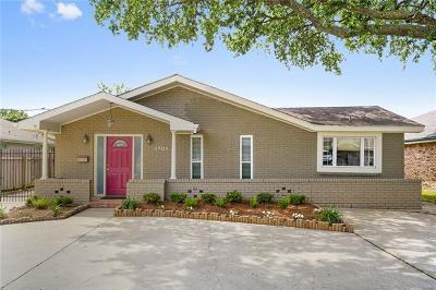 Metairie Single Family Home For Sale: 4704 Shores Drive
