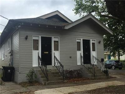 New Orleans Single Family Home For Sale: 2734 Palmer Avenue