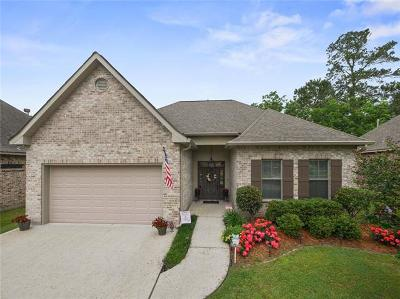 Madisonville Single Family Home For Sale: 128 Coquille Drive
