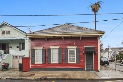 New Orleans Single Family Home For Sale: 1725 Burgundy Street