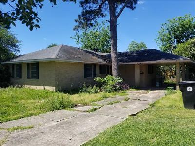 New Orleans Single Family Home For Sale: 3519 Herald Street