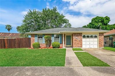 Kenner Single Family Home For Sale: 1400 Montana Avenue