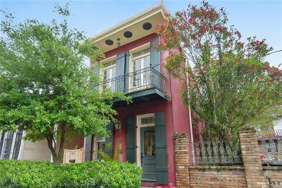Single Family Home For Sale: 621 Mandeville Street
