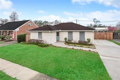 Metairie Single Family Home For Sale: 1804 Mason Smith Avenue