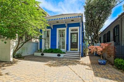 New Orleans Single Family Home For Sale: 1327 Eighth Street