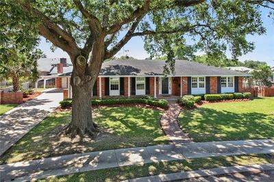 Single Family Home For Sale: 6208 Pratt Place