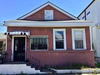 New Orleans Single Family Home For Sale: 2507 Amelia Street