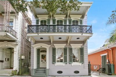French Quarter Single Family Home For Sale: 634 Esplanade Avenue