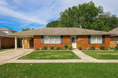 Metairie Single Family Home For Sale: 4520 Jeannette Drive
