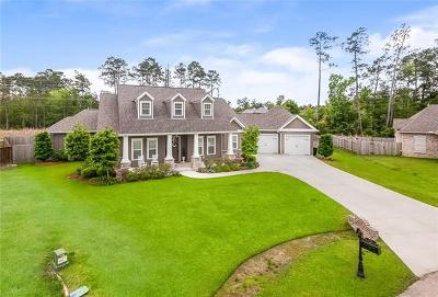 Madisonville Single Family Home For Sale: 1525 Periwinkle Court