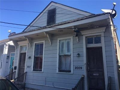 New Orleans Multi Family Home For Sale: 2009 6th Street
