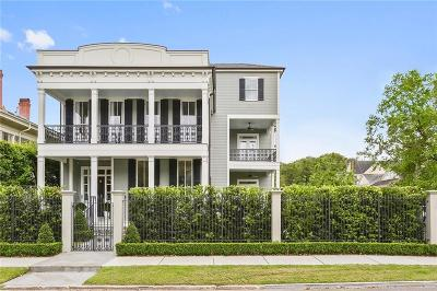 New Orleans Single Family Home For Sale: 1311 Jefferson Avenue