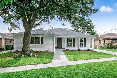 Metairie Single Family Home For Sale: 5109 Elmwood Parkway