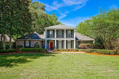 Mandeville LA Single Family Home For Sale: $797,000