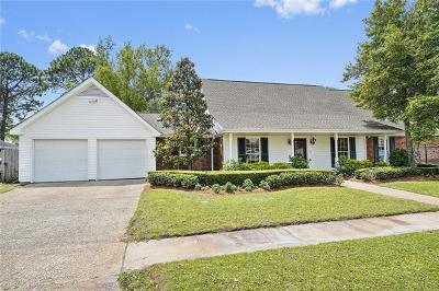 Kenner Single Family Home For Sale: 645 Carmenere Drive