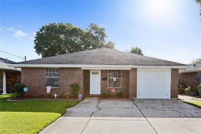 Metairie Single Family Home For Sale: 1313 Cleary Avenue
