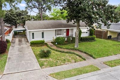 Metairie Single Family Home For Sale: 519 Oaklawn Drive