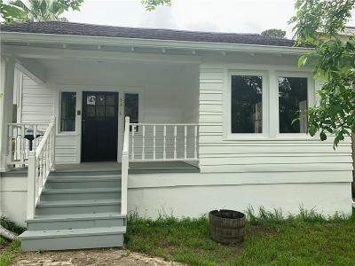 New Orleans Single Family Home For Sale: 3315 State St Drive