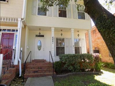 Lakeview Townhouse For Sale: 6841 Milne Boulevard