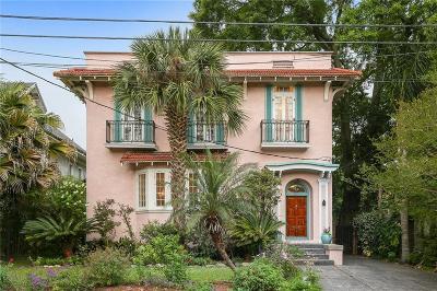 Single Family Home For Sale: 630 Audubon Street
