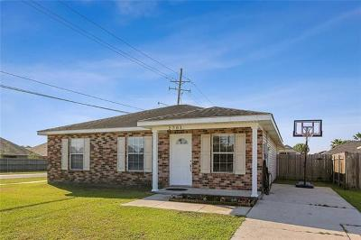 Marrero Single Family Home For Sale: 2701 Bayou Des Cannes Drive