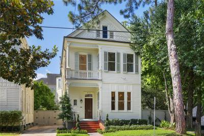 Single Family Home For Sale: 4736 Prytania Street