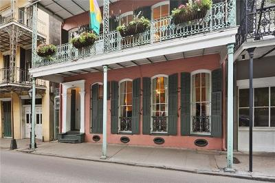 French Quarter Single Family Home For Sale: 1012 Royal Street