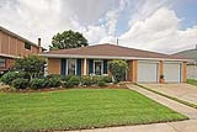 Kenner Single Family Home For Sale: 19 Echezeaux Drive