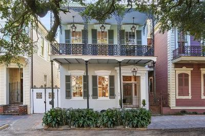 French Quarter Single Family Home For Sale: 628 Esplanade Avenue