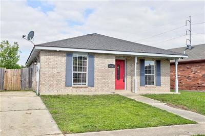 New Orleans Single Family Home For Sale: 4914 Francisco Verrett Drive