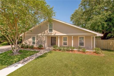 Destrehan, St. Rose Single Family Home For Sale: 327 Ormond Oaks Drive