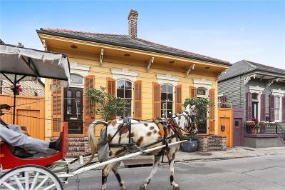 French Quarter Single Family Home For Sale: 622 Barracks Street